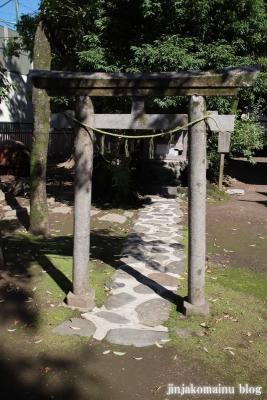 中野島稲荷神社  川崎市多摩区中野島8
