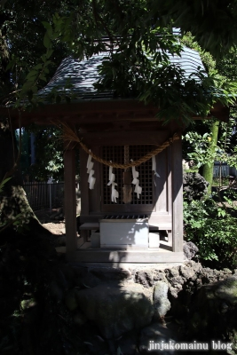 中野島稲荷神社  川崎市多摩区中野島9