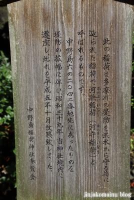中野島稲荷神社  川崎市多摩区中野島10
