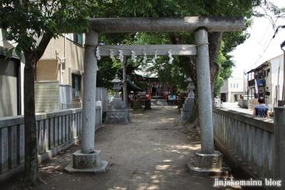 青渭神社 稲城市東長沼6