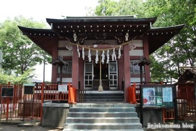 青渭神社 稲城市東長沼8