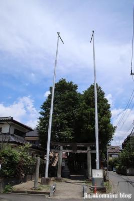 青渭神社 稲城市東長沼1