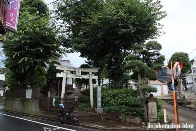 古八幡社  三鷹市大沢1