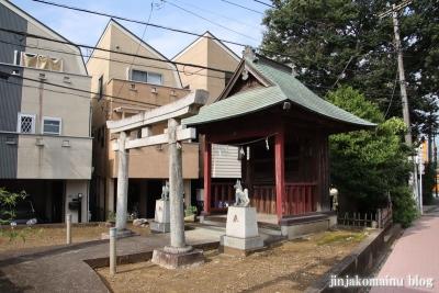 稲荷神社  狛江市元和泉1