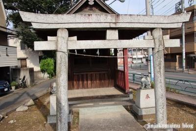 稲荷神社  狛江市元和泉2