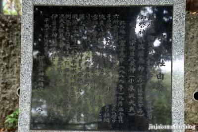 水神社 狛江市元和泉4