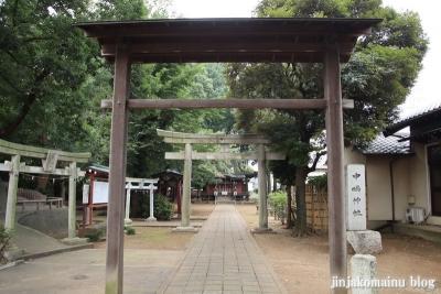中嶋神社  三鷹市中原2