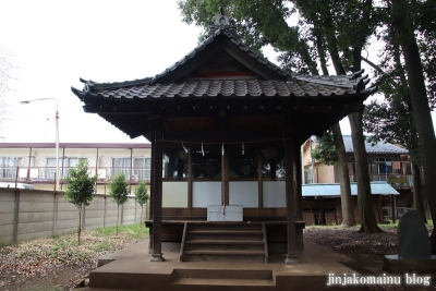 中嶋神社  三鷹市中原10