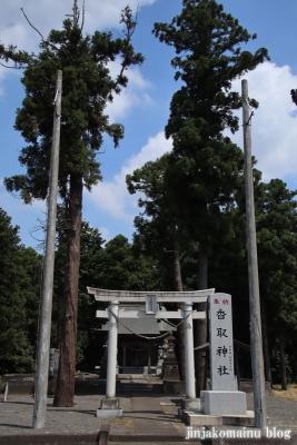 香取神社 古河市上片田1