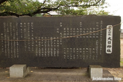大日神社 古河市尾崎11