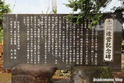 香取神社 古河市久能11