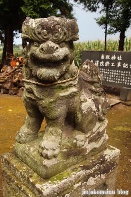 香取神社 古河市久能17