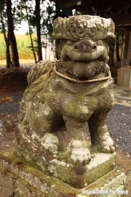 香取神社 古河市久能21