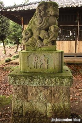 神明神社  古河市水海23