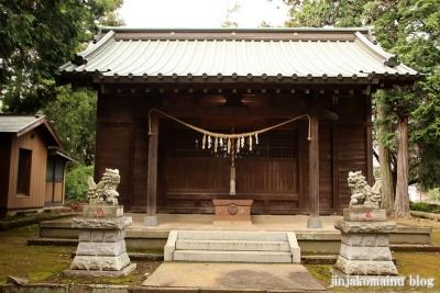 三嶋神社  古河市水海7