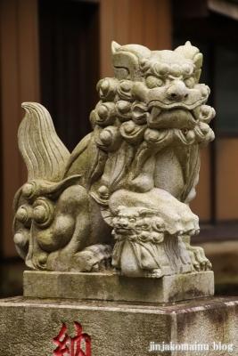 三嶋神社  古河市水海9