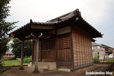 白山神社  古河市中田7