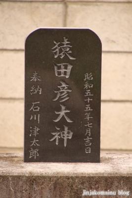 白山神社  古河市中田12