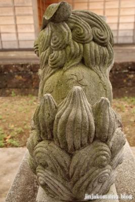 白山神社  古河市中田19