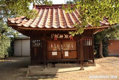 香取神社  古河市上辺見8