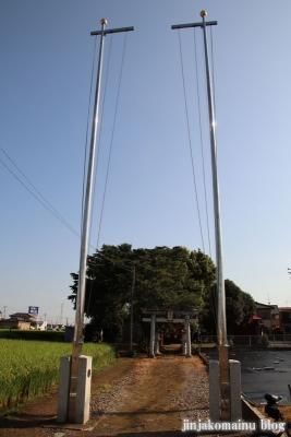 香取神社  古河市上辺見1