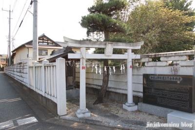 加波山神社 古河市上辺見1