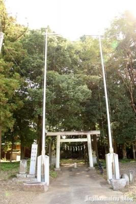 鹿島神社 古河市下大野1
