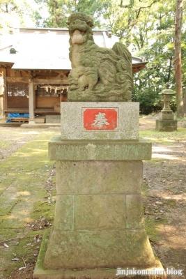鹿島神社 古河市下大野7