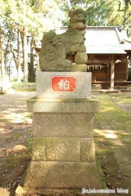 鹿島神社 古河市下大野11