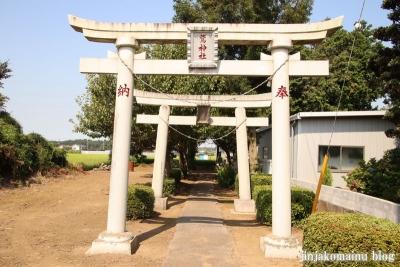 鷲神社 古河市稲宮4