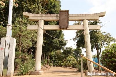 香取八幡神社  古河市小堤2