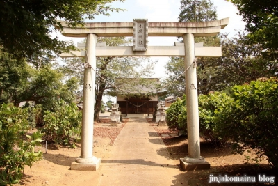 香取八幡神社  古河市小堤5