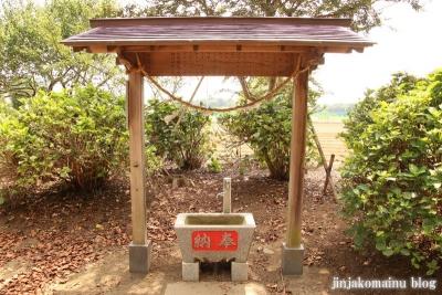 香取八幡神社  古河市小堤7