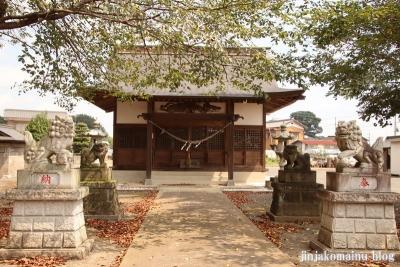 香取八幡神社  古河市小堤8