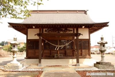 香取八幡神社  古河市小堤9