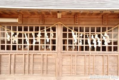 香取八幡神社  古河市小堤17