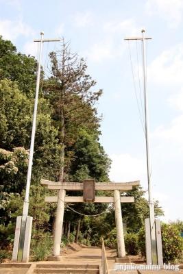 香取八幡神社  古河市小堤1