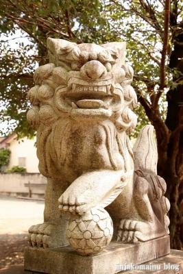 香取八幡神社  古河市小堤10