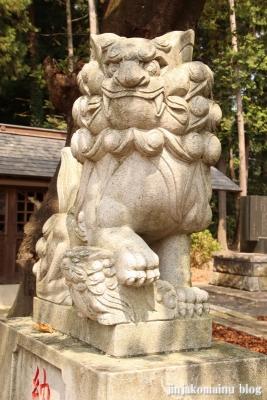 香取八幡神社  古河市小堤11