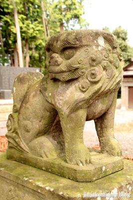 香取八幡神社  古河市小堤24