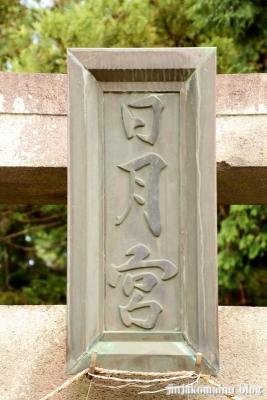 日月神社  古河市東牛が谷3