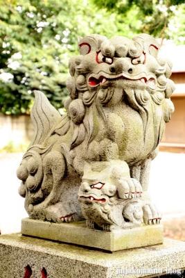 日月神社  古河市東牛が谷8