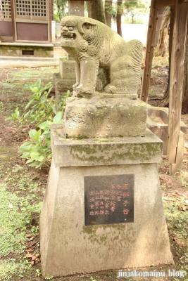 日月神社  古河市東牛が谷15