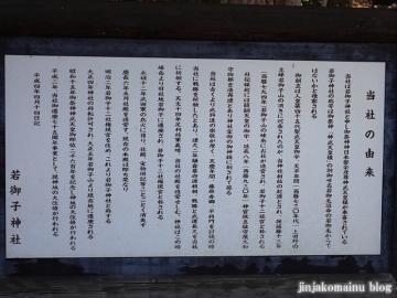 若御子神社 秩父市上田野12(2)