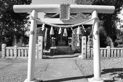 日枝神社 白黒4