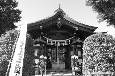 日枝神社 白黒6