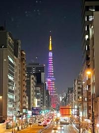 SMAPファン有志による東京タワースペシャルライトアップ