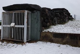10-3八幡山古墳石室入口