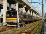 205系1200番台ナハ50編成 中原電車区にて