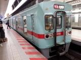 西鉄6000系 西鉄福岡駅にて